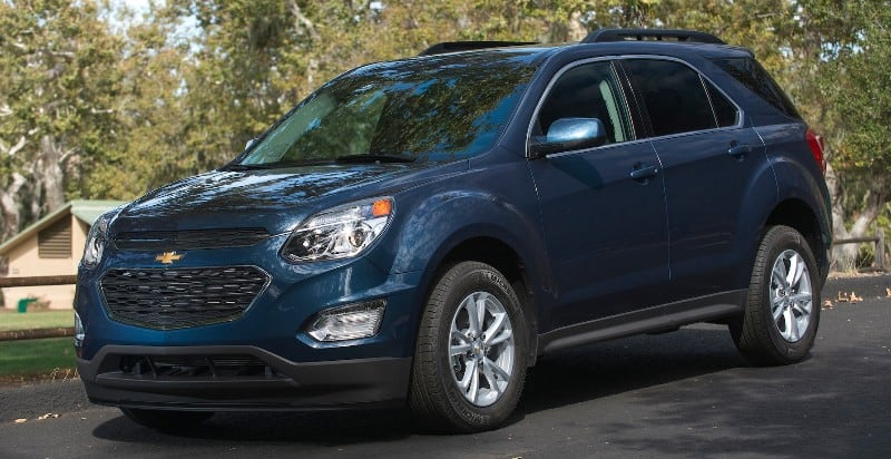 2017 Chevrolet Equinox - left front view