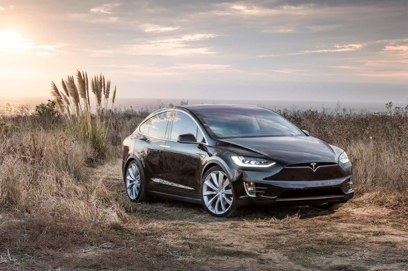 2017 Tesla Model X - passenger side view