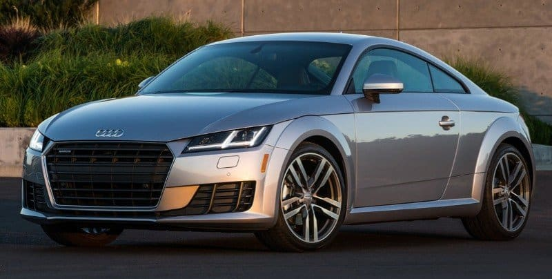 2018 Audi TT Coupe - drivers side front view