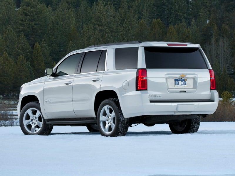 2018 Chevrolet Tahoe - left rear view