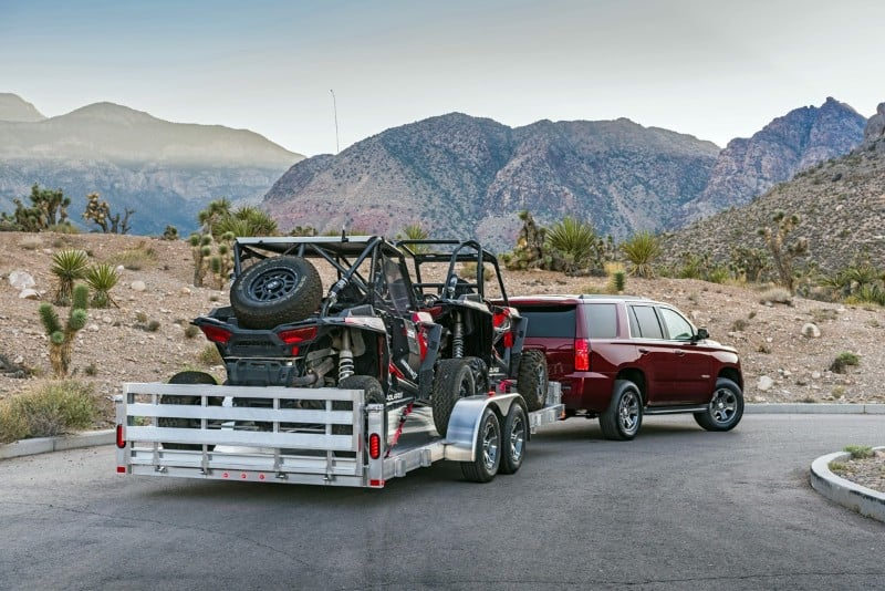 2018 Chevy Tahoe - tow package