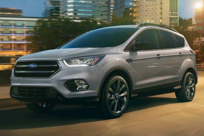2018 Ford Escape SE - left front view
