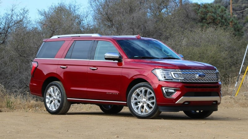 2018 Ford Expedition - passenger side view
