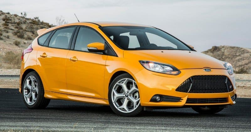 2018 Ford Focus ST - passenger side front view
