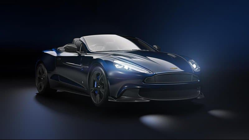 2018 Limited Edition TB12 Aston Martin Vanquish S Volante - right front view