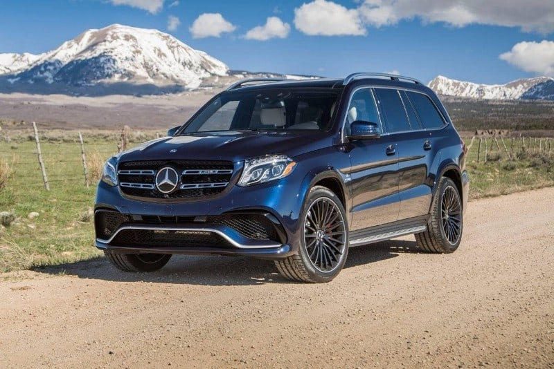 2018 Mercedes-Benz GLS-Class - drivers side front view