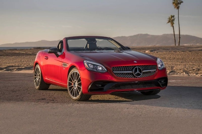 2018 Mercedes-Benz SLC - front view