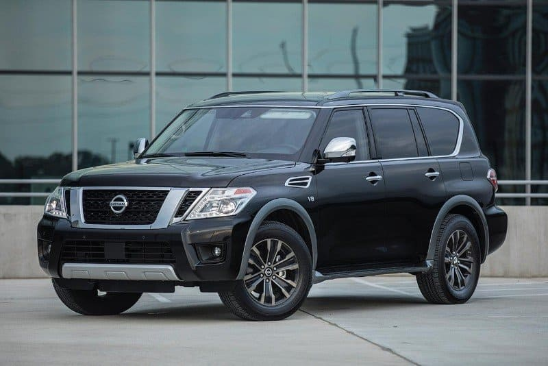 2018 Nissan Armada - drivers side front view