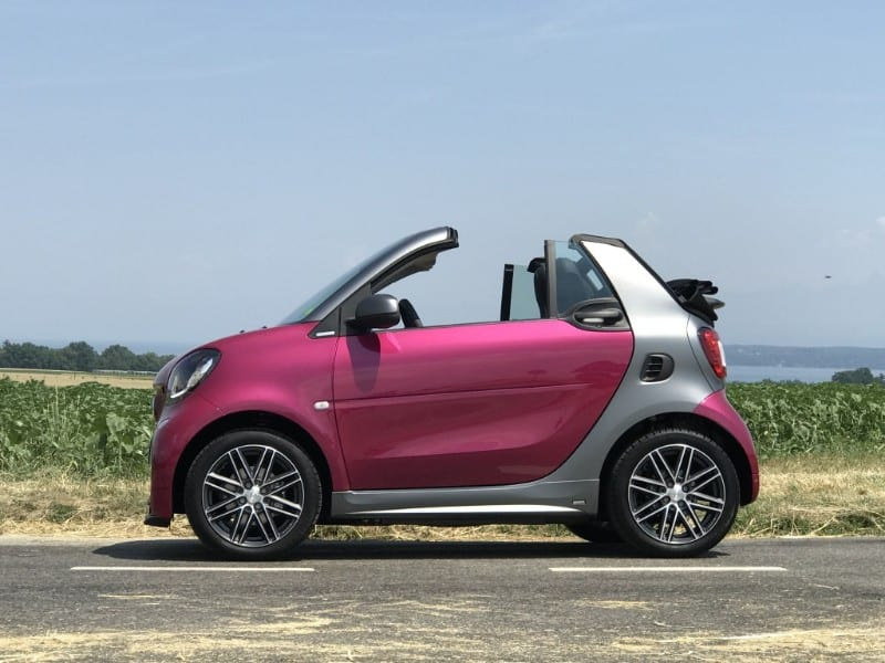 2018 Smart Fortwo Electric Drive Convertible - drivers side view