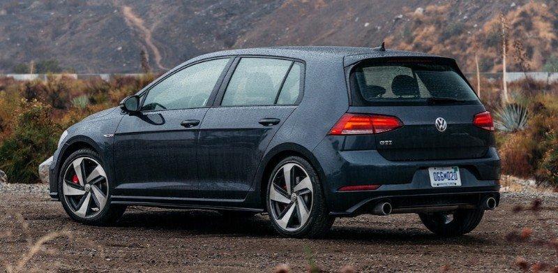 2018 Volkswagen Golf GTI - left rear view