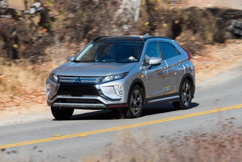 2019 Mitsubishi Eclipse Cross SEL - left front view