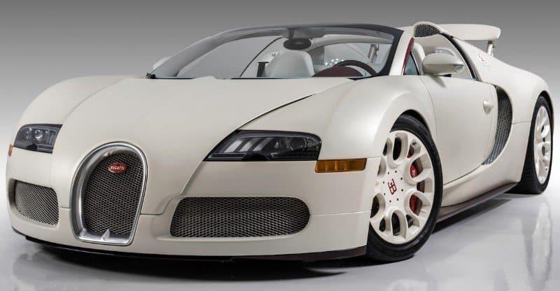 Bugatti Grand Sport Vitesse - left front view