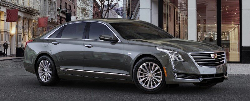 Cadillac CT6 Plug-In - right side view