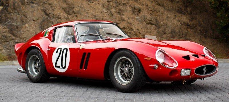 Ferrari 250 GTO - right side view