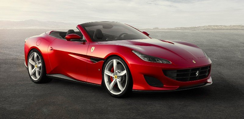 2018 Ferrari Portfofino - right front view