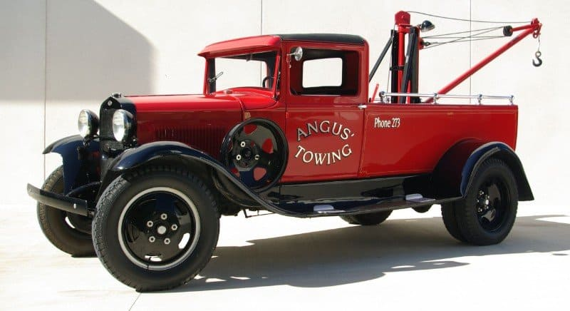 Ford Model AA - dually