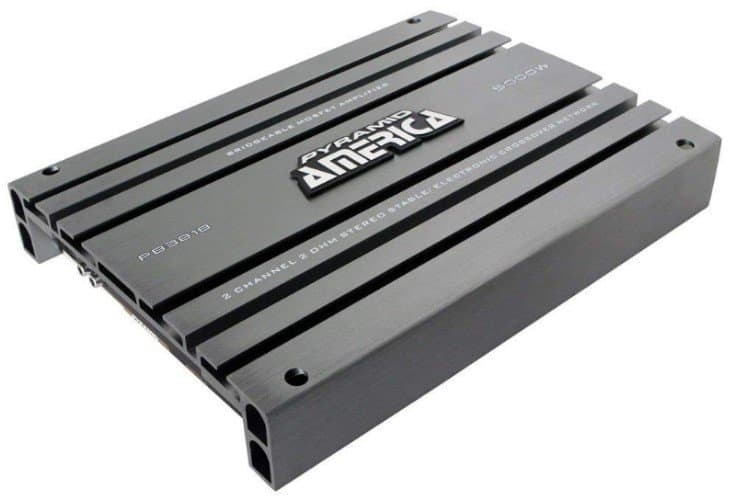 Pyramid 2-Channel Bridgeable MOSFET Amplifier
