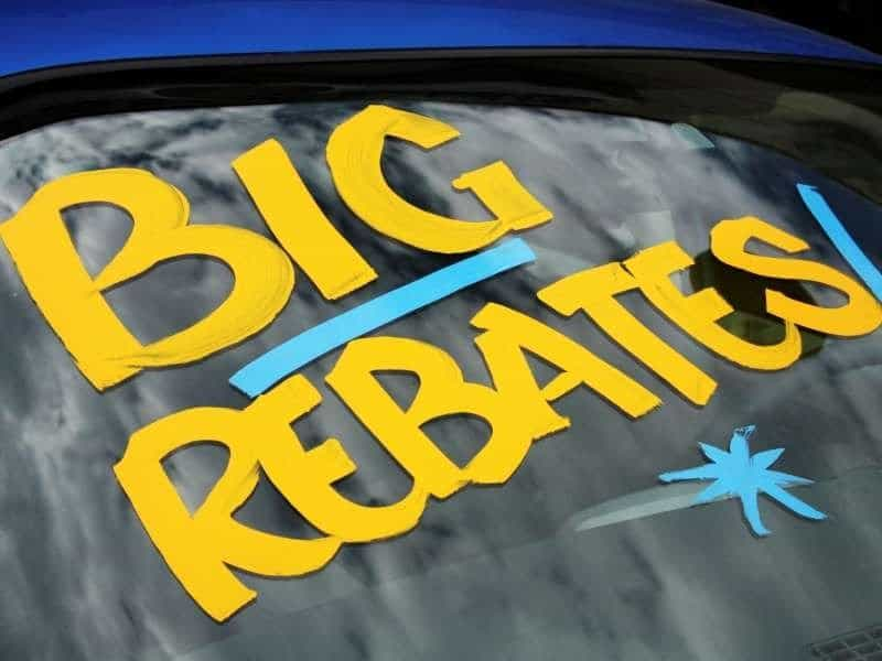 Rebates and Incentives