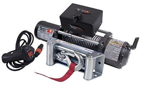 Rugged Ridge Winch with Steel Cable