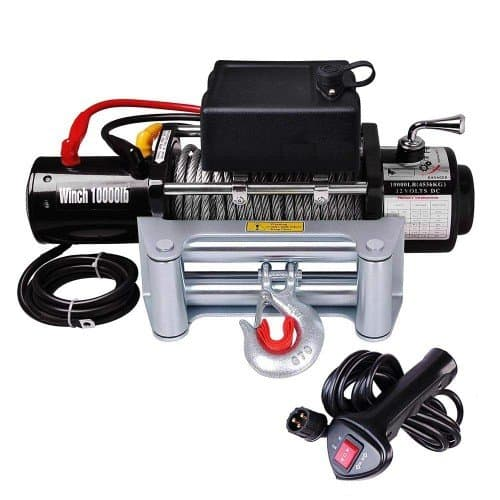 Yescom 10000 lb Electric Recovery Winch