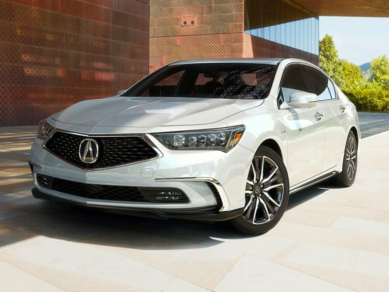 Acura RLX front 3/4 view
