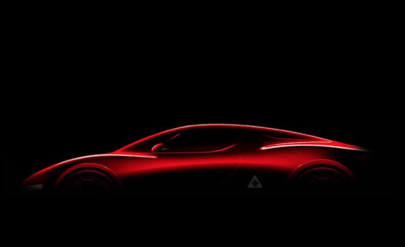 Alfa Romeo 8C Silhouette Teaser