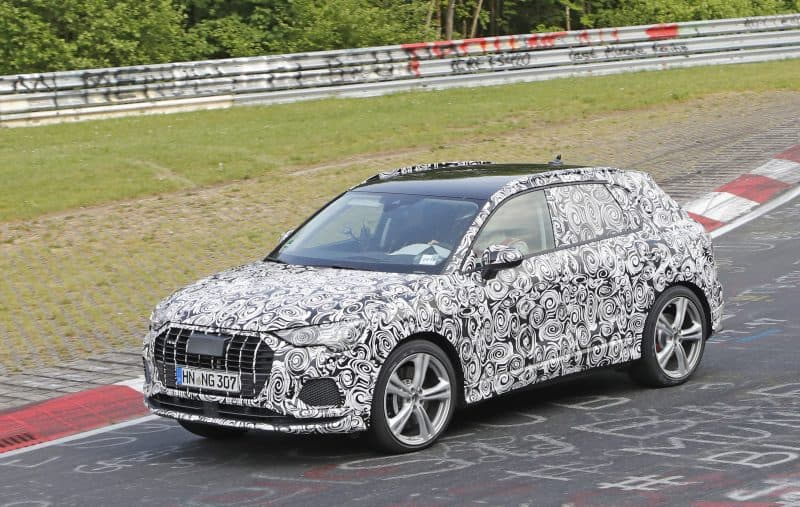 Audi RS Q3 test mule