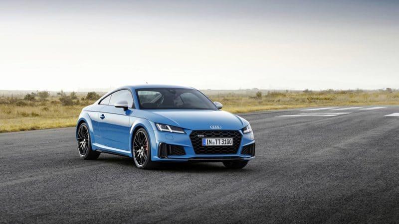 Audi TT front 3/4 view