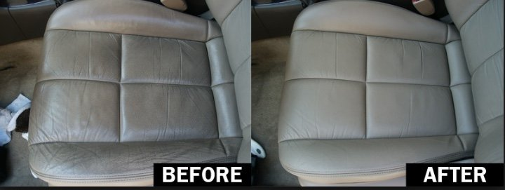 car seats before and after