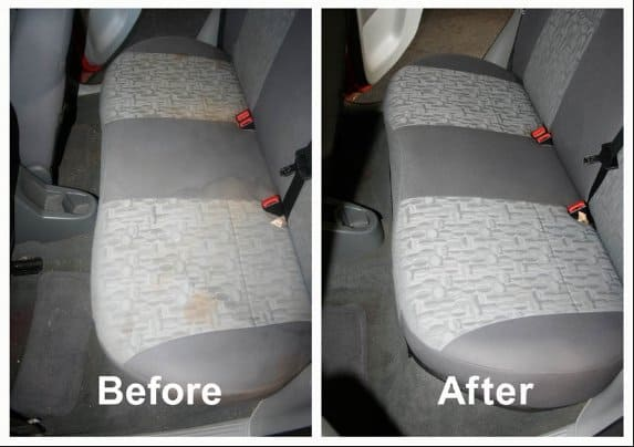before and after car seats