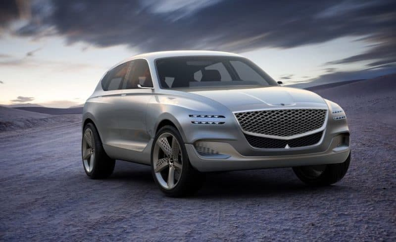 Genesis GV80 concept car from the 2017 New York auto show