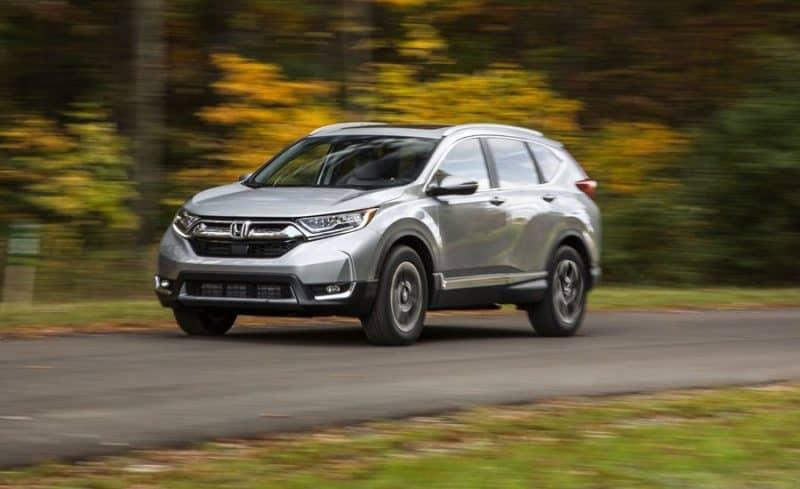 Honda CR-V front 3/4 view