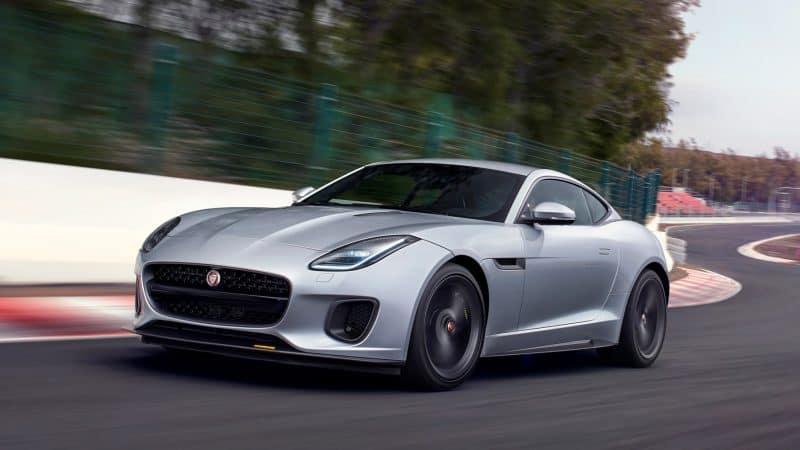 Jaguar F-Type front 3/4 view