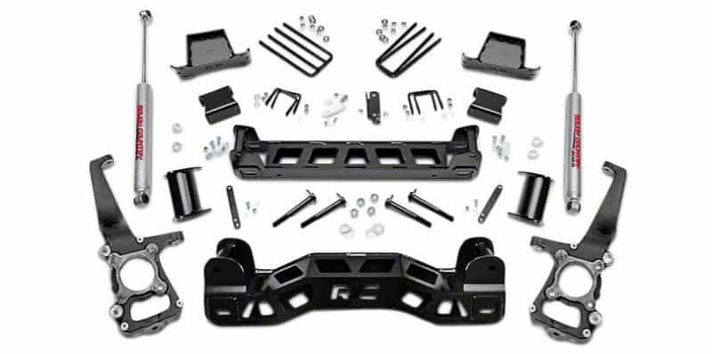 suspension lift kit components