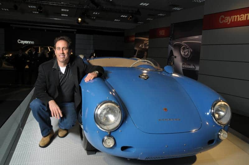 10 Stunning Facts about the Jerry Seinfeld Car Collection