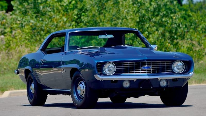 1969 ZL1 Camaro - front view