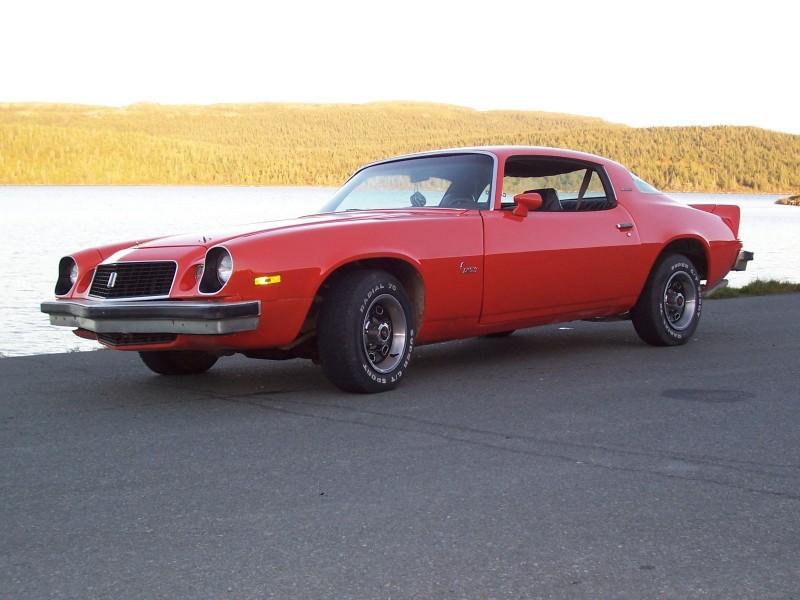 1975 Camaro - left side view