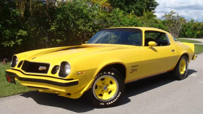 1977 Camaro Z28 - left front view
