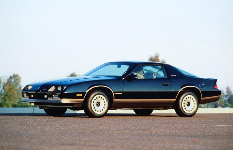 1985 Camaro Berlinetta - left side view