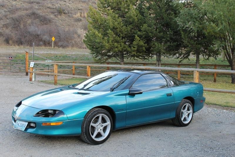 1994 Chevrolet Camaro - left side view