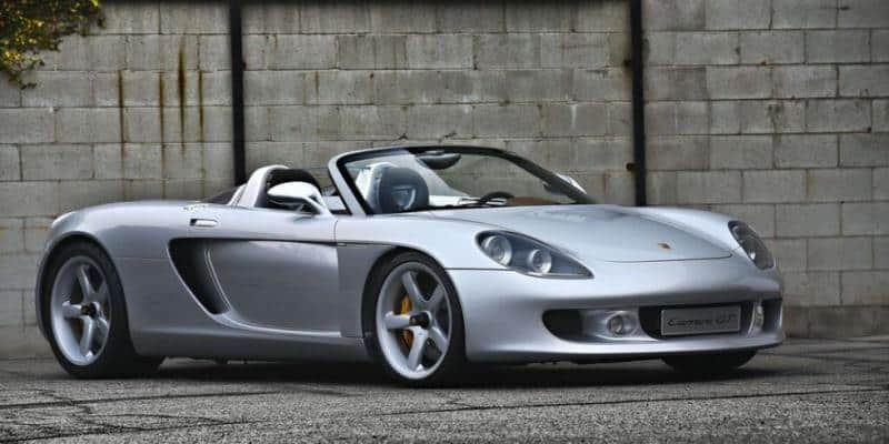 2000 Porsche Carrera GT - right front view