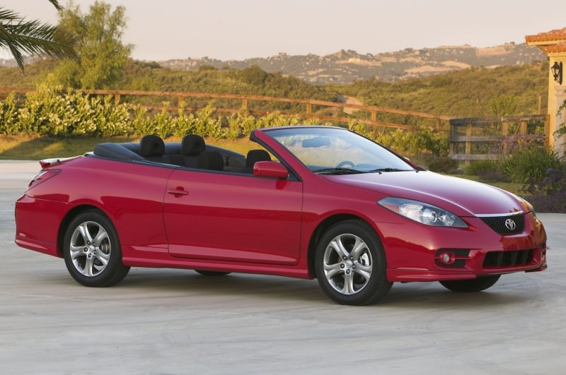 2007 Toyota Solara - right side view