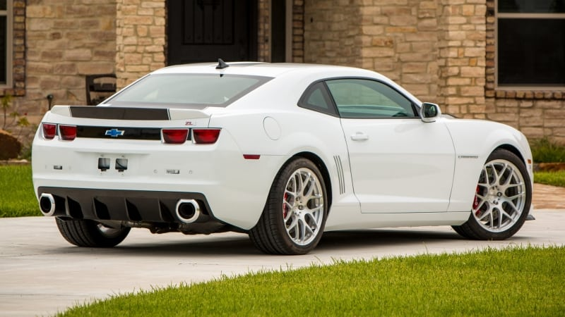2011 Chevrolet Camaro SLP ZL1 - right rear view