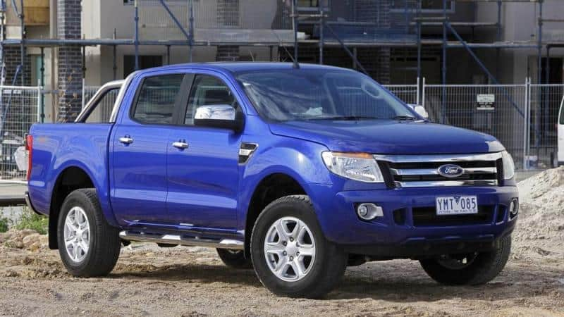 2012 Ford Ranger - right front view