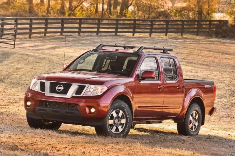 2013 Nissan Frontier - left front view