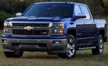 2014 Chevrolet Silverado - front