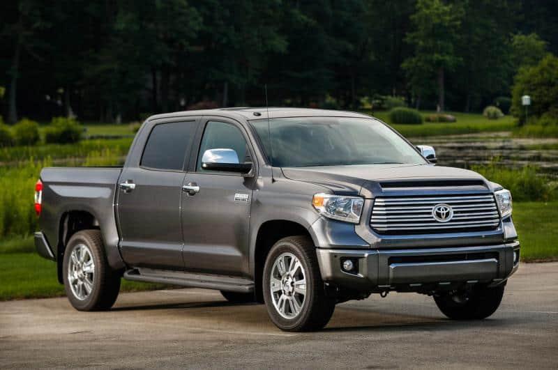 2014 Toyota Tundra - passenger side view