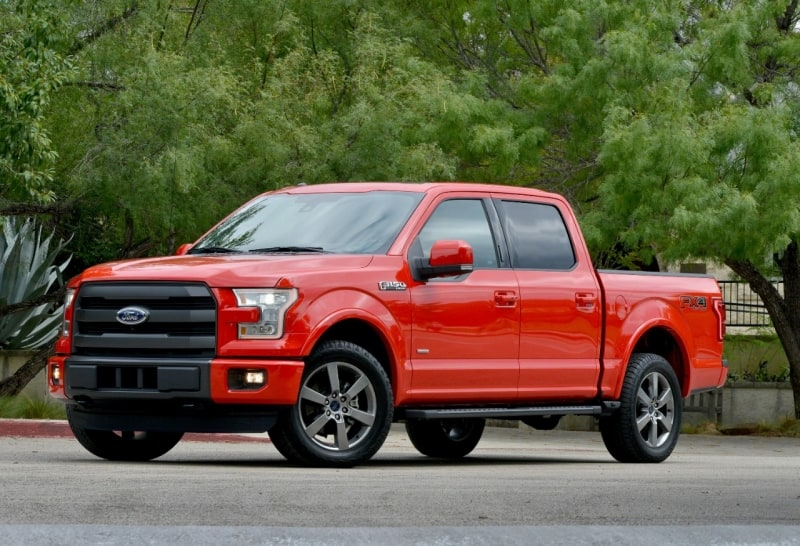 2016 Ford F-150 - left side view