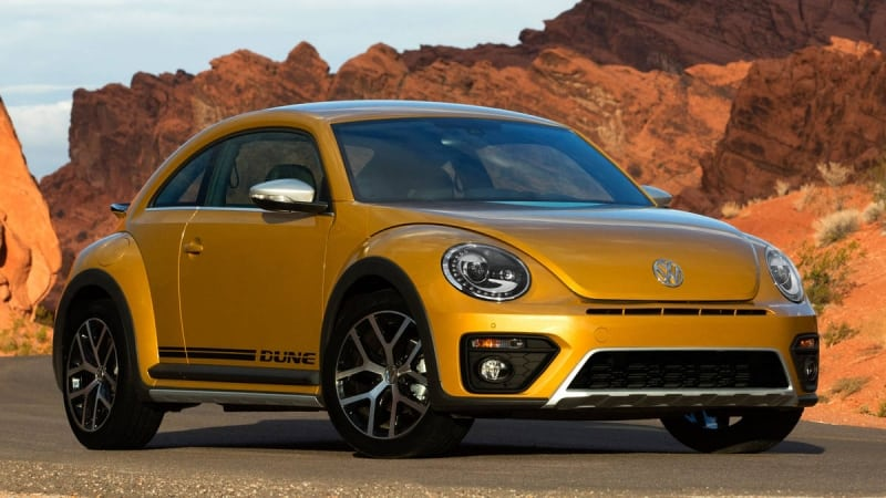 2016 VW Beetle - right front view