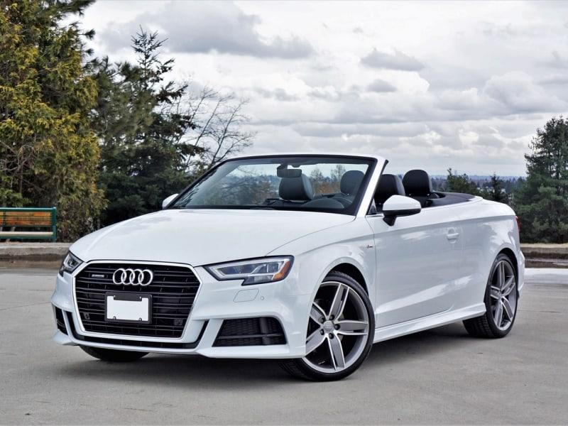 2017 Audi A3 - left front view